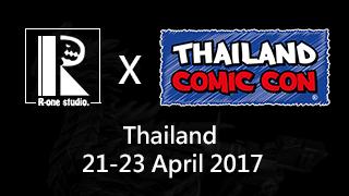 R-one studio x Thailand Comic Con 2017